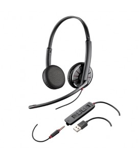 Plantronics BLACKWIRE 325.1 duo USB headset