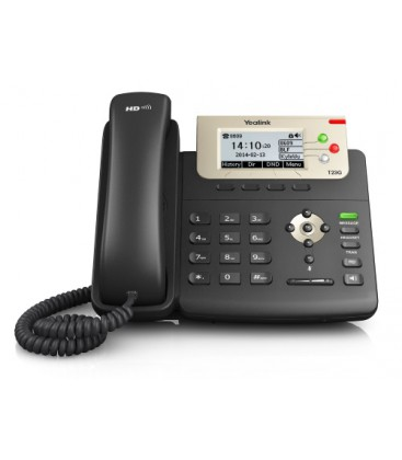 Yealink SIP-T23G Entry-level IP phone met PoE - geen PSU