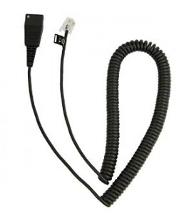 Jabra 8800-01-37 QD Cord to RJ10,coiled, 0,5 - 2 meter Cisco