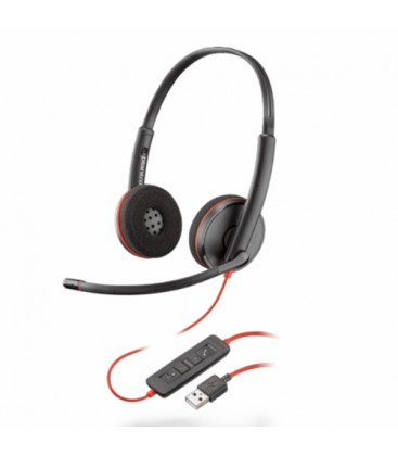 Blackwire C3220 USB-A Duo Headset