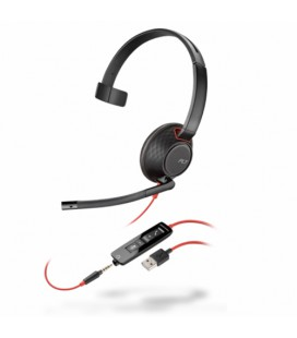 Poly Blackwire 5210 USB-A + 3.5mm Mono Headset