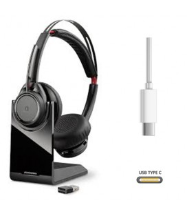 Poly Voyager Focus UC USB-C B825 bluetooth headset