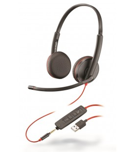 Blackwire C3225 USB-A + 3.5mm Duo Headset