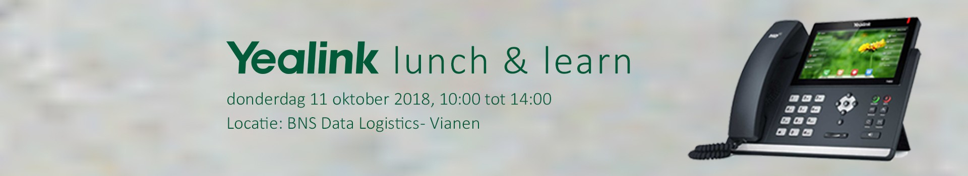 Yealink Lunch & Learn bijeenkomst